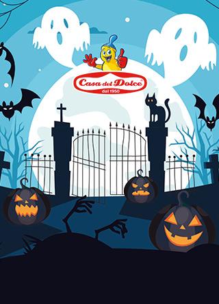 copertina catalogo dolciumi di Halloween 2020