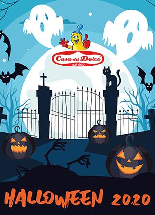 copertina catalogo dolciumi halloween 2020